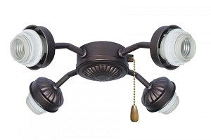 Emerson Fans Four Light Oil Rubbed Bronze Fan Light Kit - F440ORB